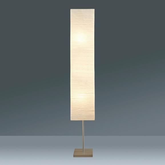 Stoječa Svetilka Antonio - bela/srebrna, Konvencionalno, papir/kovina (25/159/25cm) - Mömax modern living