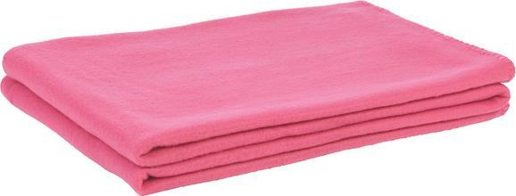 Fleecedecke Trendix - Pink, Textil (130/180cm) - Mömax modern living
