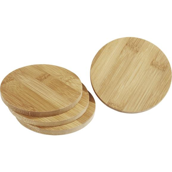 Set De Suporturi Gabriel - maro deschis, lemn (11/3.8cm)
