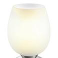 Namizna Svetilka Cup - bela, Moderno, kovina/steklo (12,5/22,6cm) - Mömax modern living