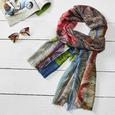 WOLLPASHMINA SCHAL SHALIMAR ca. 70X180 CM - Multicolor, MODERN, Textil (70/180cm) - Bessagi Home