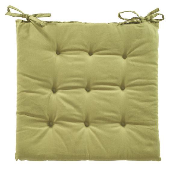 PERNĂ ȘEZUT LOLA -BASED- -TOP- - Verde, Material textil (40/40/2cm) - BASED