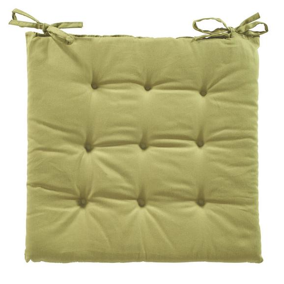 Pernă Şezut Lola - Verde, Material textil (40/40/2cm) - Based