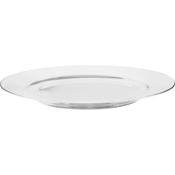 Farfurie Pentru Desert Bonnie - alb, Modern, ceramică (20,3cm) - Modern Living