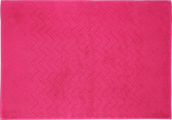 Badematte Peter Pink - Pink, Textil (50/70cm) - MÖMAX modern living