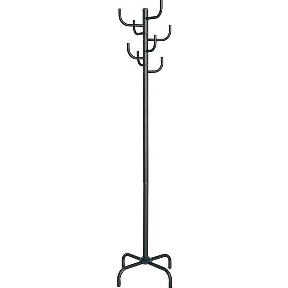"""Cuier """"cactus"""" - negru, Modern, metal (47/180/47cm)"""