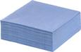 Serviette Kathleen in Blau - Blau, Papier (33/33cm) - Mömax modern living