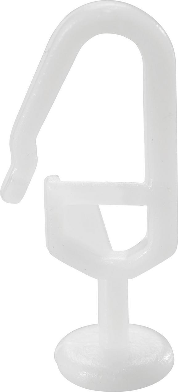 Függönygörgő Sandy - Fehér, Műanyag (0.9/2.5cm) - Mömax modern living