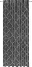 Končana Zavesa Charles - siva, Trendi, tekstil (140/245cm) - Mömax modern living