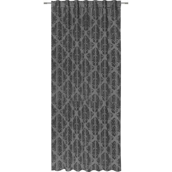 Zavesa Z Zankami Charles - siva, Trendi, tekstil (140/245cm) - Mömax modern living