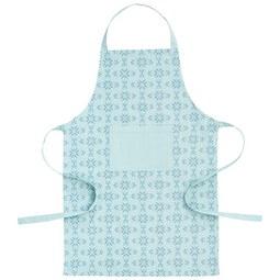 Kötény Agnes - Kék, modern, Textil (60/90cm) - Mömax modern living