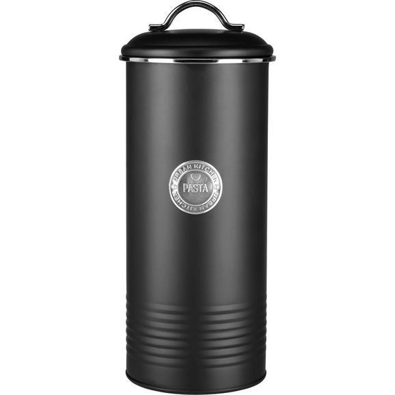 Posoda Za Shranjevanje Urban - črna/srebrna, Moderno, kovina (12/29cm) - Mömax modern living