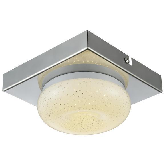 Stenska Led-svetilka Pete - krom, Romantika, kovina/umetna masa (14/6,5cm) - Mömax modern living
