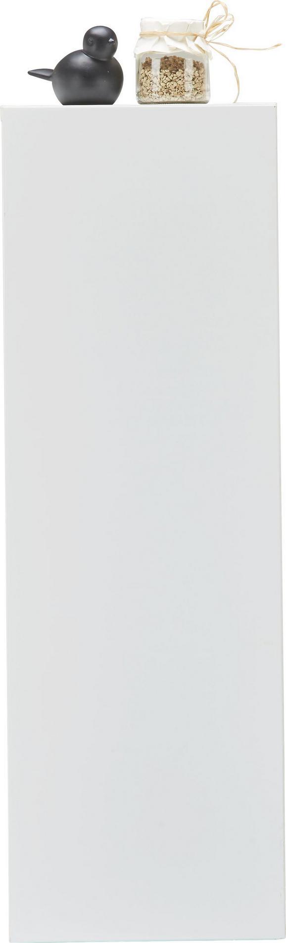 Viseča Omara Match Bela - bela, Moderno, leseni material (90/30/34cm) - Mömax modern living
