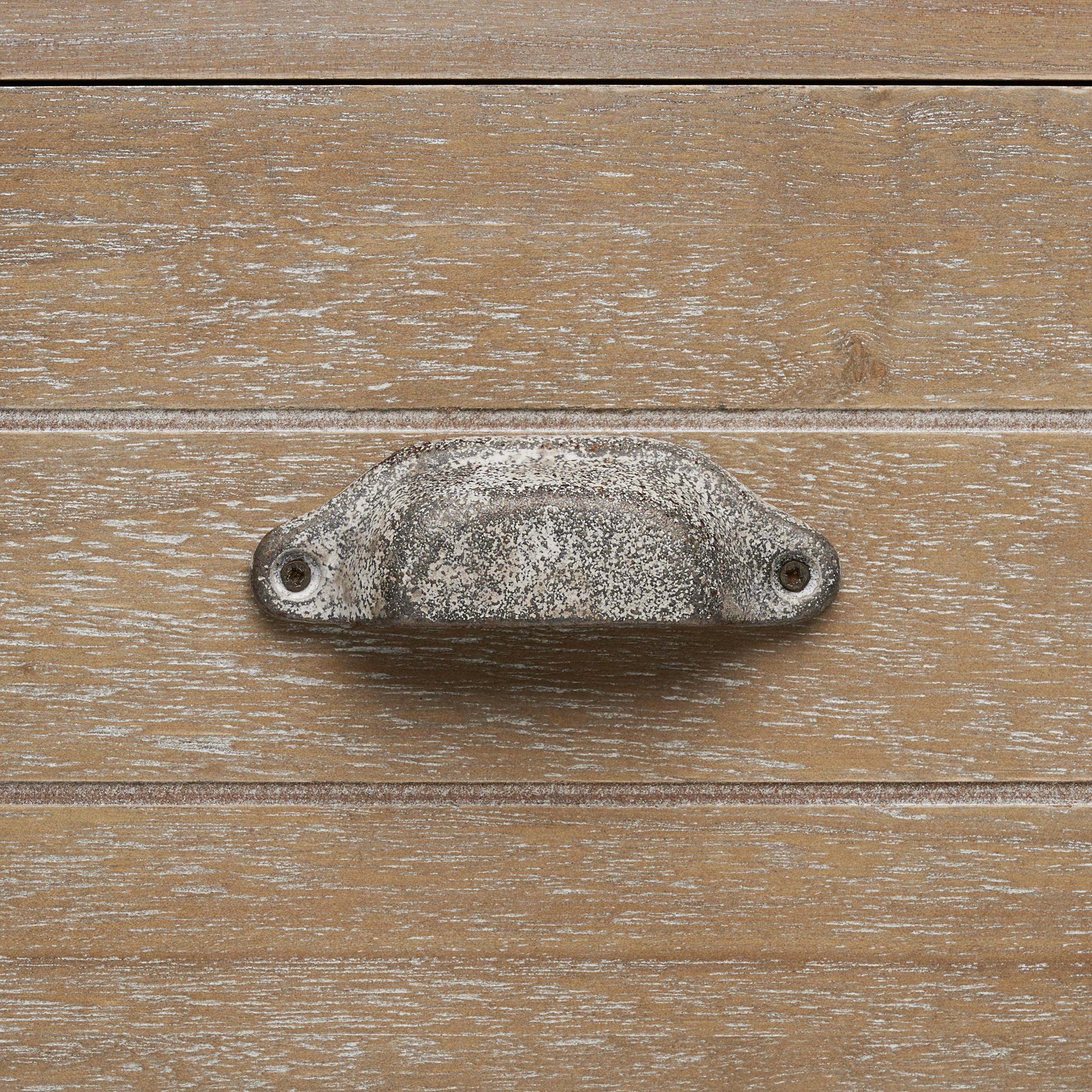 Kommode Savannah Antik - Braun, MODERN, Holz/Metall (92,5/76/37,5cm) - MÖMAX modern living