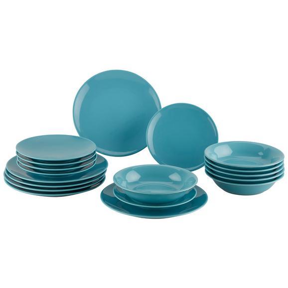 Serviciu De Masă Inka - turcoaz, ceramică - Modern Living
