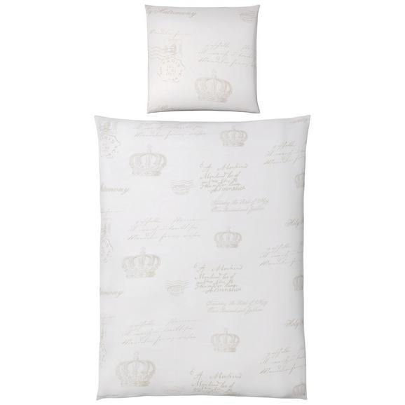 Bettwäsche Gloria in Weiß ca. 135x200cm - Weiß, KONVENTIONELL, Textil (135/200cm) - Mömax modern living