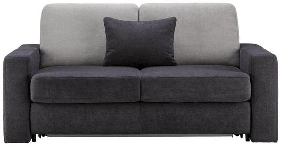 Schlafsofa in Anthrazit mit Bettfunktion - Anthrazit, KONVENTIONELL, Holzwerkstoff (178/90/102cm) - Premium Living