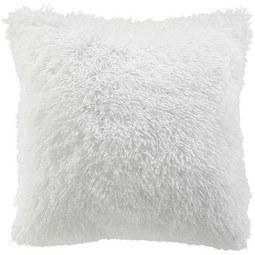 Fellkissen Marle ca.45x45cm - Weiß, MODERN, Textil (45/45cm) - Mömax modern living