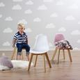 Kinderstuhl Tibby - Weiß, MODERN, Holz/Kunststoff (30/56,5/32,5cm) - Bessagi Kids