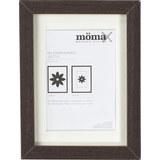 Bilderrahmen Gitta ca. 13x18cm aus Holz - Wengefarben, MODERN, Glas/Holz (13/18/3,6cm) - Mömax modern living