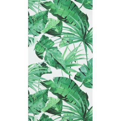 Designed For Living Tapéta - Zöld/Fehér (53/1005cm)