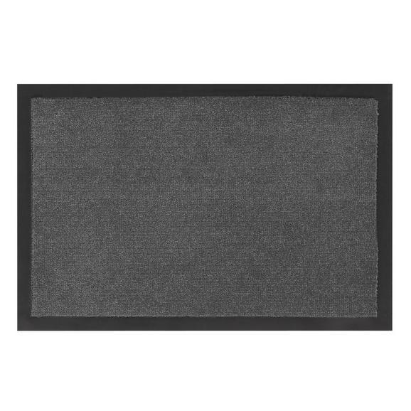 Fußmatte Eton in Grau ca. 80x120cm - Grau, LIFESTYLE, Textil (80/120cm) - Mömax modern living