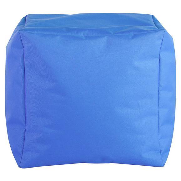 Tabure Cube S-sb- - modra, Moderno, tekstil (40/40/40cm) - Mömax modern living