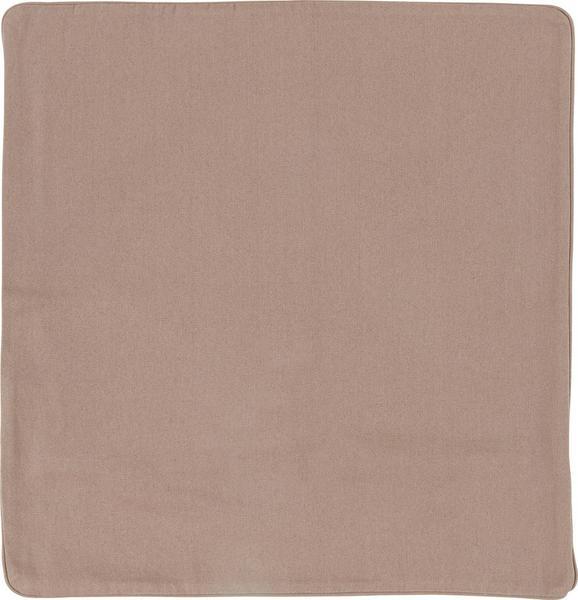Kissenhülle Steffi Paspel, ca. 50x50cm - Taupe, Textil (50/50cm) - Mömax modern living