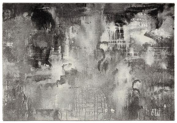 Webteppich Belis, ca. 80x150cm - Schwarz/Weiß, MODERN, Textil (80/150cm) - Mömax modern living