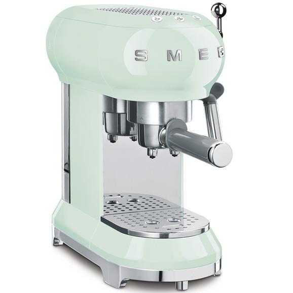Espressomaschine SMEG ECF01BLEU Pastellgrün - Pastellgrün (33/14,9/30,3cm) - SMEG