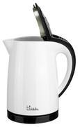 Wasserkocher Bikitchen - Schwarz/Weiß, MODERN, Kunststoff (22,5/25,5/13,5cm) - Bikitchen