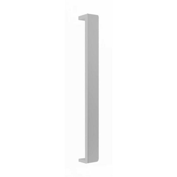 Griff in Edelstahlfarben - Edelstahlfarben, MODERN, Metall (20/2,4/1,7cm) - Based