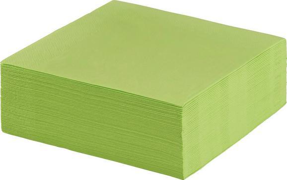 Serviette Kathleen in Grün aus Papier - Grün, Papier (33/33cm) - Mömax modern living