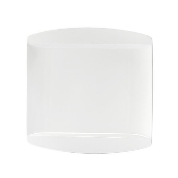 Speiseteller Pura in Weiß - Weiß, LIFESTYLE, Keramik (25,3/25,5cm) - Premium Living