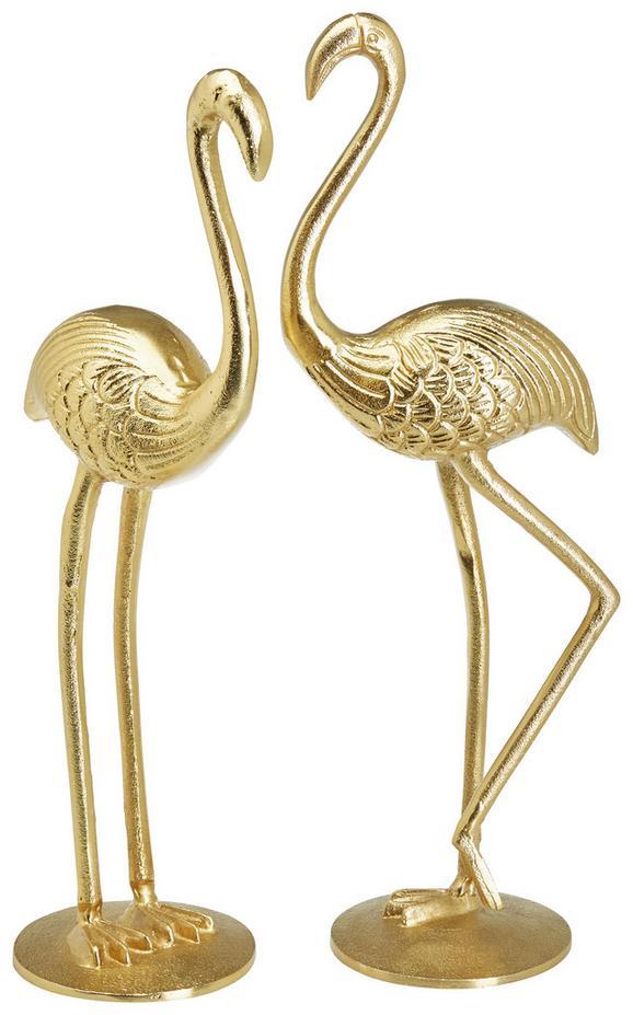 Dekotier Cornelia Gold - Goldfarben, MODERN, Metall (13/10/40cm)