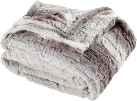 Felldecke Gritt 130x160cm - Hellgrau, MODERN, Textil (130/160cm) - MÖMAX modern living