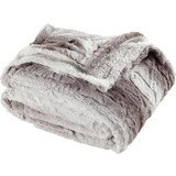 Felldecke Gritt ca.130x160cm - Hellgrau, MODERN, Textil (130/160cm) - Mömax modern living