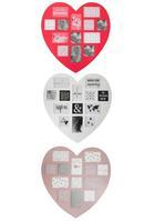 KÉPKERET HEART - Sötét rózsaszín/Piros, romantikus/Landhaus, Faalapú anyag/Műanyag (60/59cm) - Mömax modern living