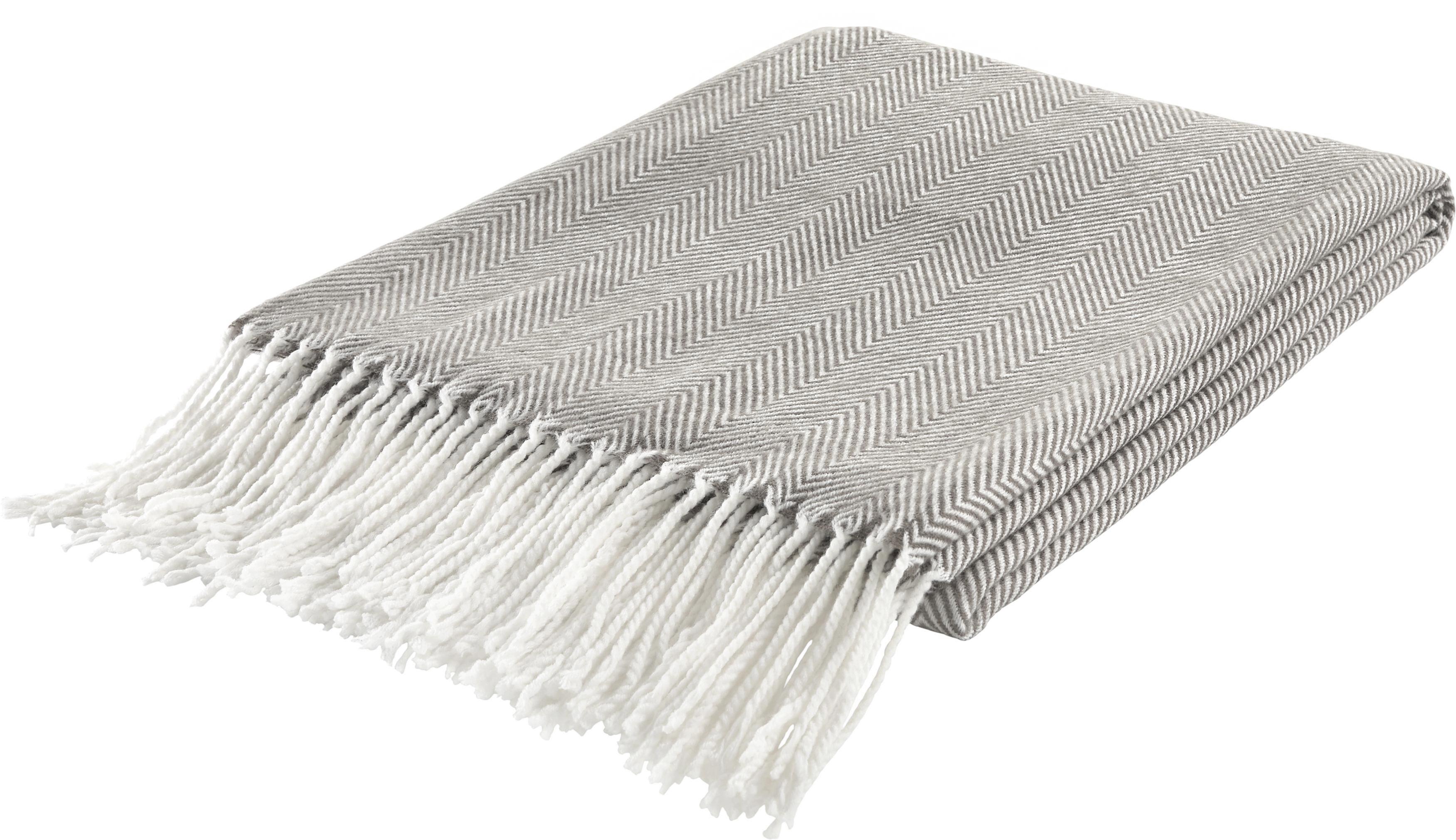Wohndecke Emilia 130x170cm - Grau, MODERN, Textil (130/170cm) - MÖMAX modern living