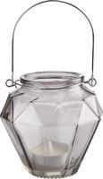 Laterna Georgina - roza/turkizna, Moderno, kovina/steklo (10,5/9,7cm) - Mömax modern living