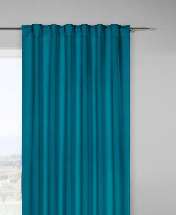 Zatemnitvena Zavesa Riccardo - petrolej, Moderno, tekstil (140/245cm) - Premium Living