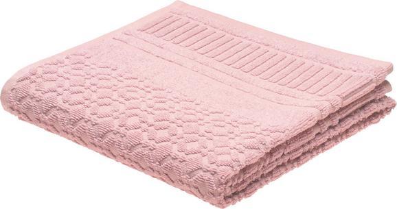 Handtuch Carina Rosa - Rosa, ROMANTIK / LANDHAUS, Textil (50/100cm) - Mömax modern living
