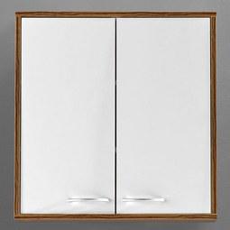 Hängeschrank Milano - Braun/Weiß, MODERN, Holz/Kunststoff (60/62/19cm) - MÖMAX modern living