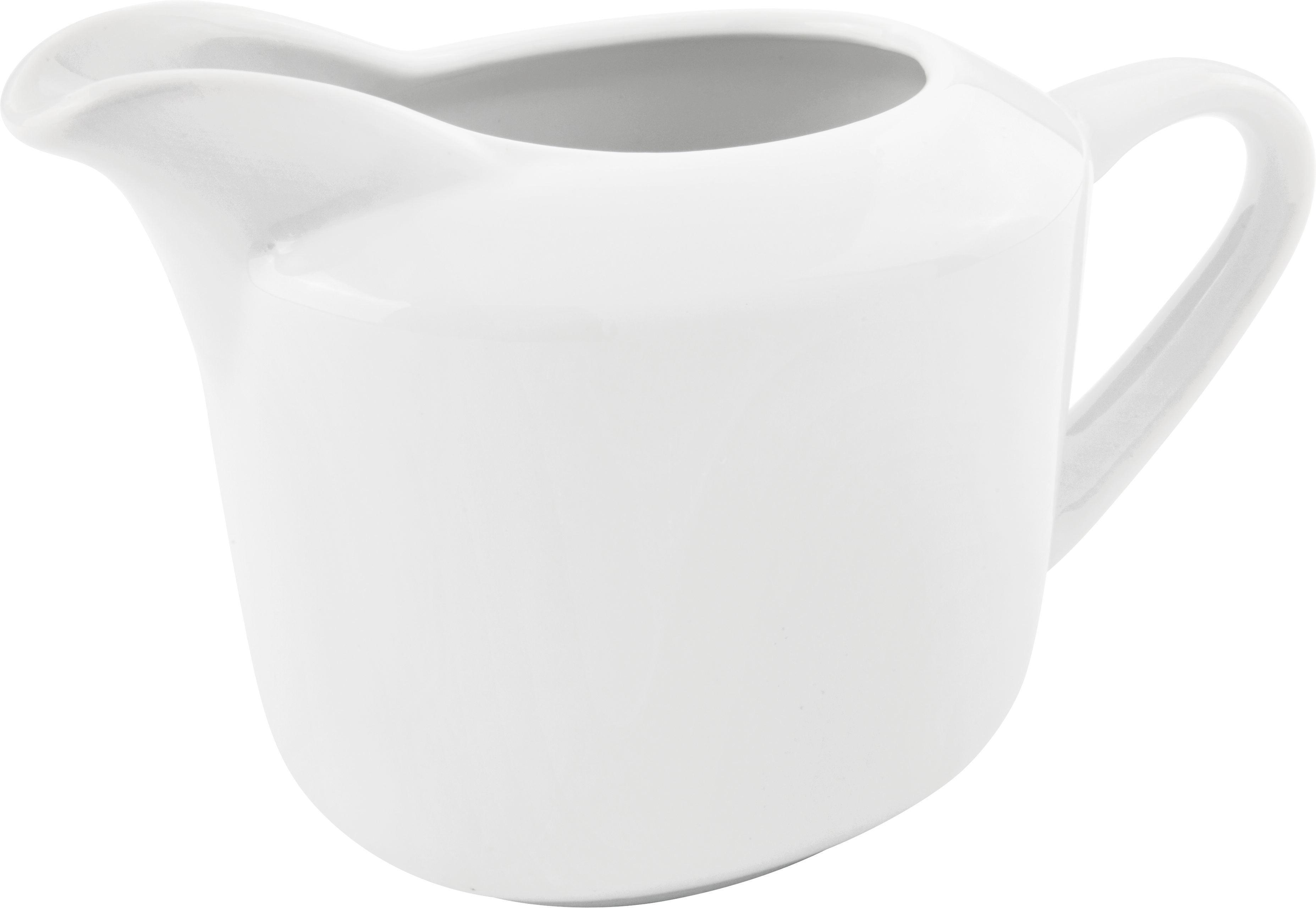 Tejeskancsó Adria - fehér, konvencionális, kerámia (10,7/8,8cm) - MÖMAX modern living