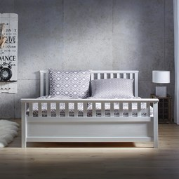 Bett Pina ca.180x200cm - Weiß, KONVENTIONELL, Holz (211/191/64cm) - Mömax modern living