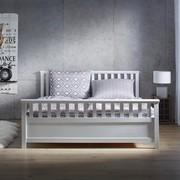 Holzbett Pina 180x200cm - Weiß, KONVENTIONELL, Holz (211/191/64cm) - Mömax modern living