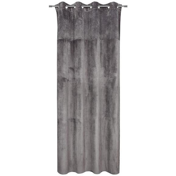 Készfüggöny Diana - Szürke, Lifestyle, Textil (140/245cm) - Premium Living