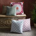 ZIERKISSEN Arifa Pink 45x45cm - Pink, ROMANTIK / LANDHAUS, Textil (45/45cm) - Mömax modern living