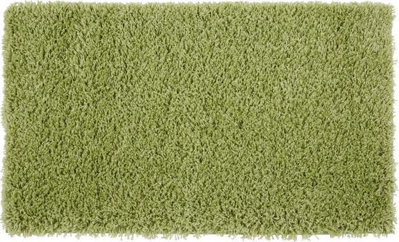 Hochflorteppich Primo 60x100cm - Grün, KONVENTIONELL, Textil (60/100cm) - Based